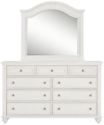 Image Of Savannah Ivory Arched Dresser U0026 Mirror With Sku:9711946
