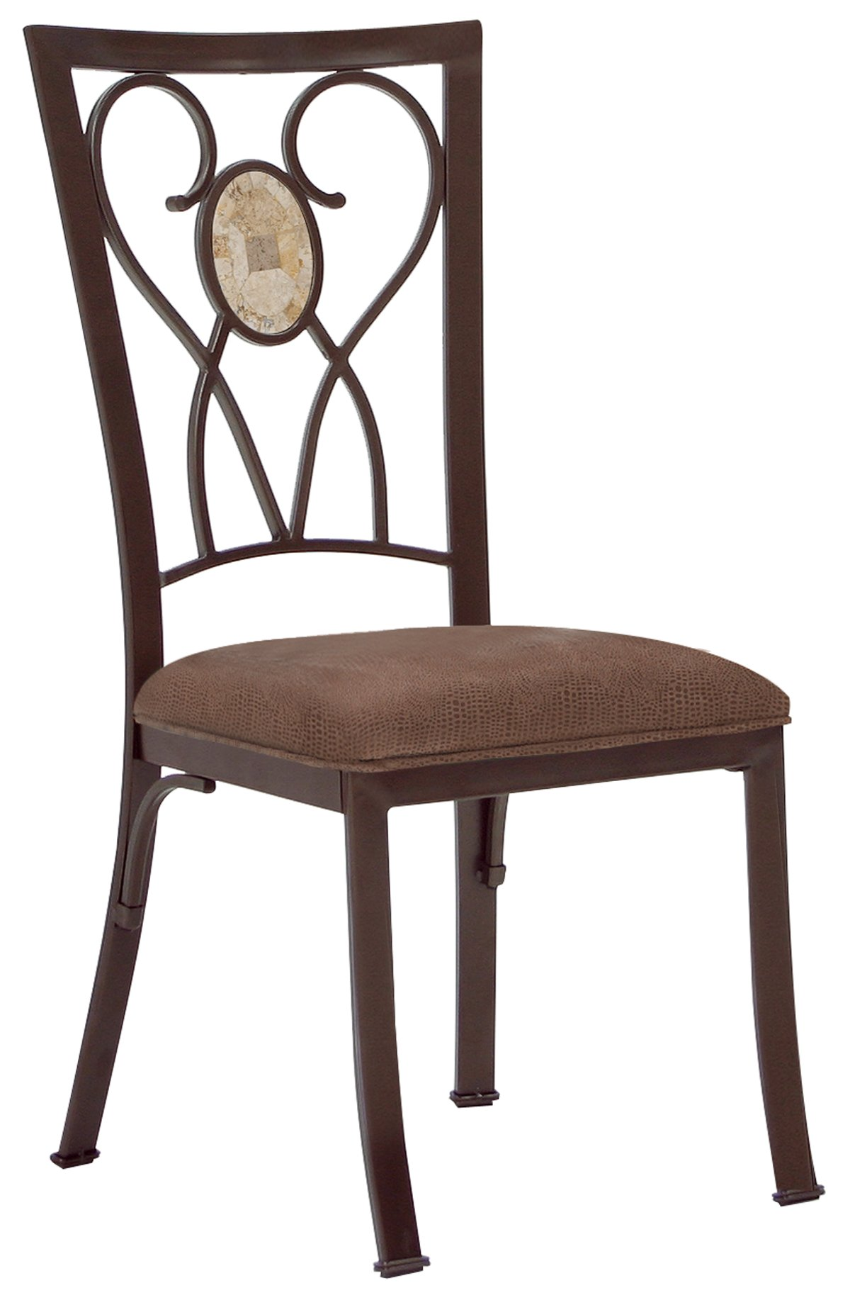 hb brookside round stone table 4 chairs