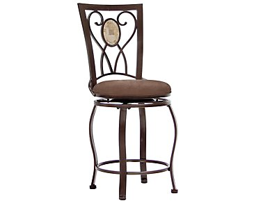 "Brookside 24"" Swivel Barstool"