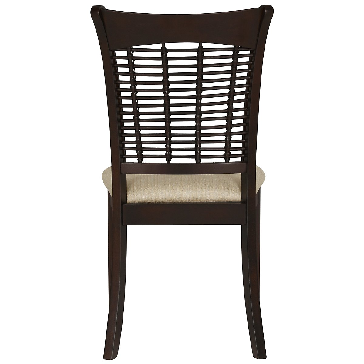 Bayberry dark tone rect table 4 chairs for Cie 85 table 4