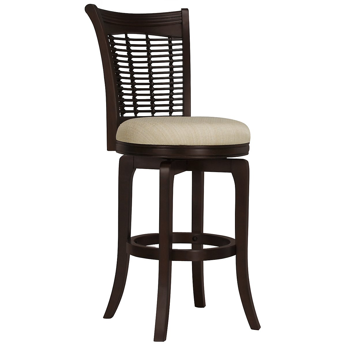 "Bayberry Dark Tone 30"" Swivel Barstool"