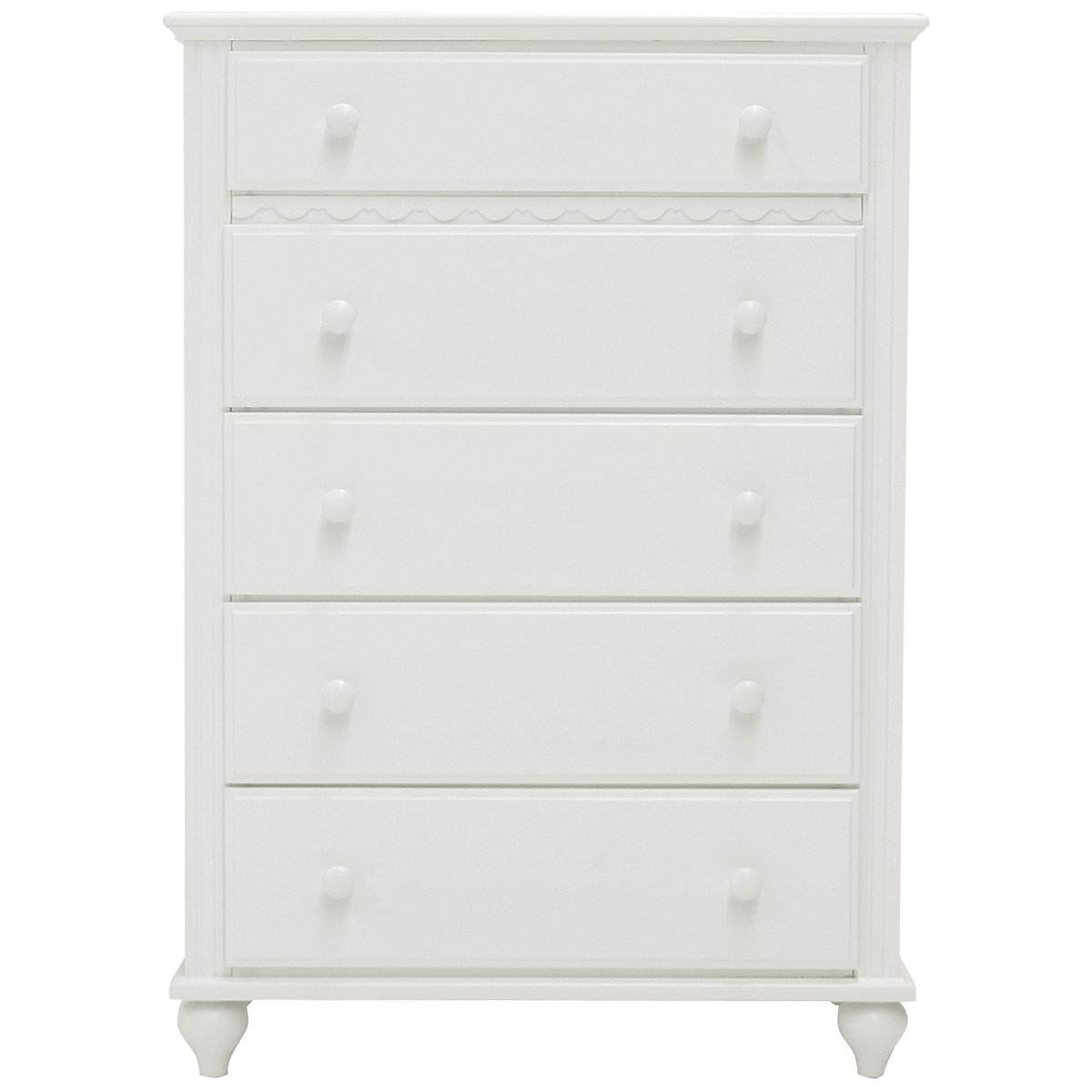 Lauren White Drawer Chest