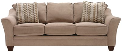 Grant2 Light Brown Microfiber Sofa