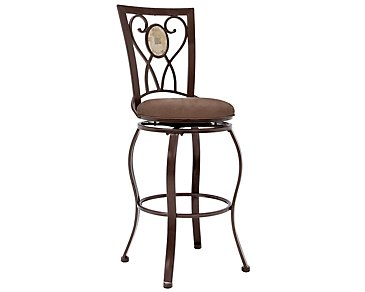 "Brookside 30"" Swivel Barstool"