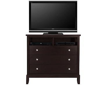Ivy Dark Tone Media Chest