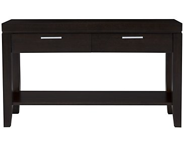 Encore2 Dark Tone Storage Sofa Table