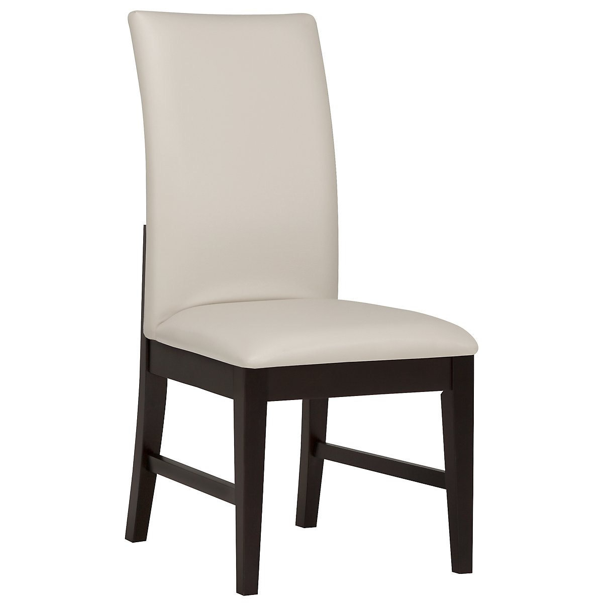Encore2 Dark Tone Bonded Leather Upholstered Side Chair