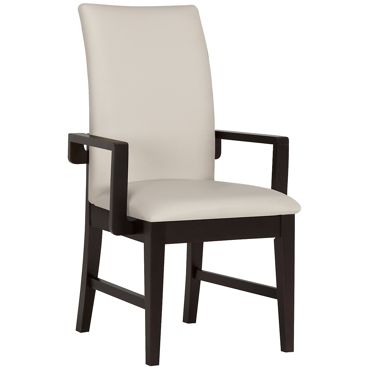 Encore2 Dark Tone Bonded Leather Upholstered Arm Chair