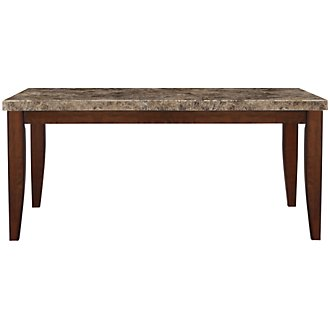 City Lights Marble Rectangular Table
