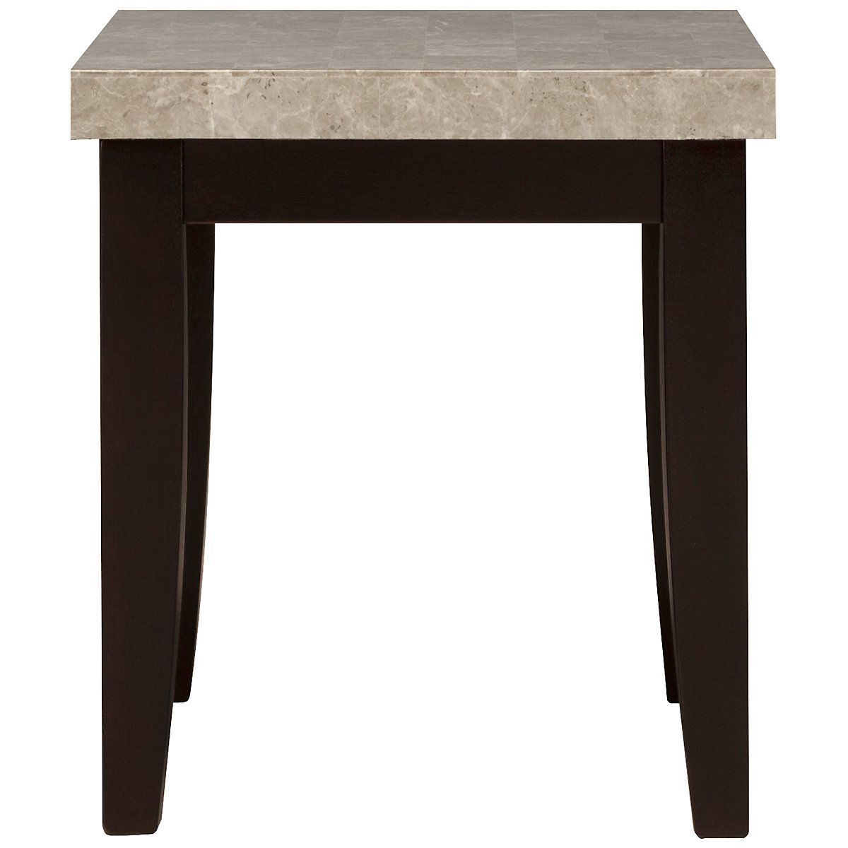 Monark Marble Rectangular End Table