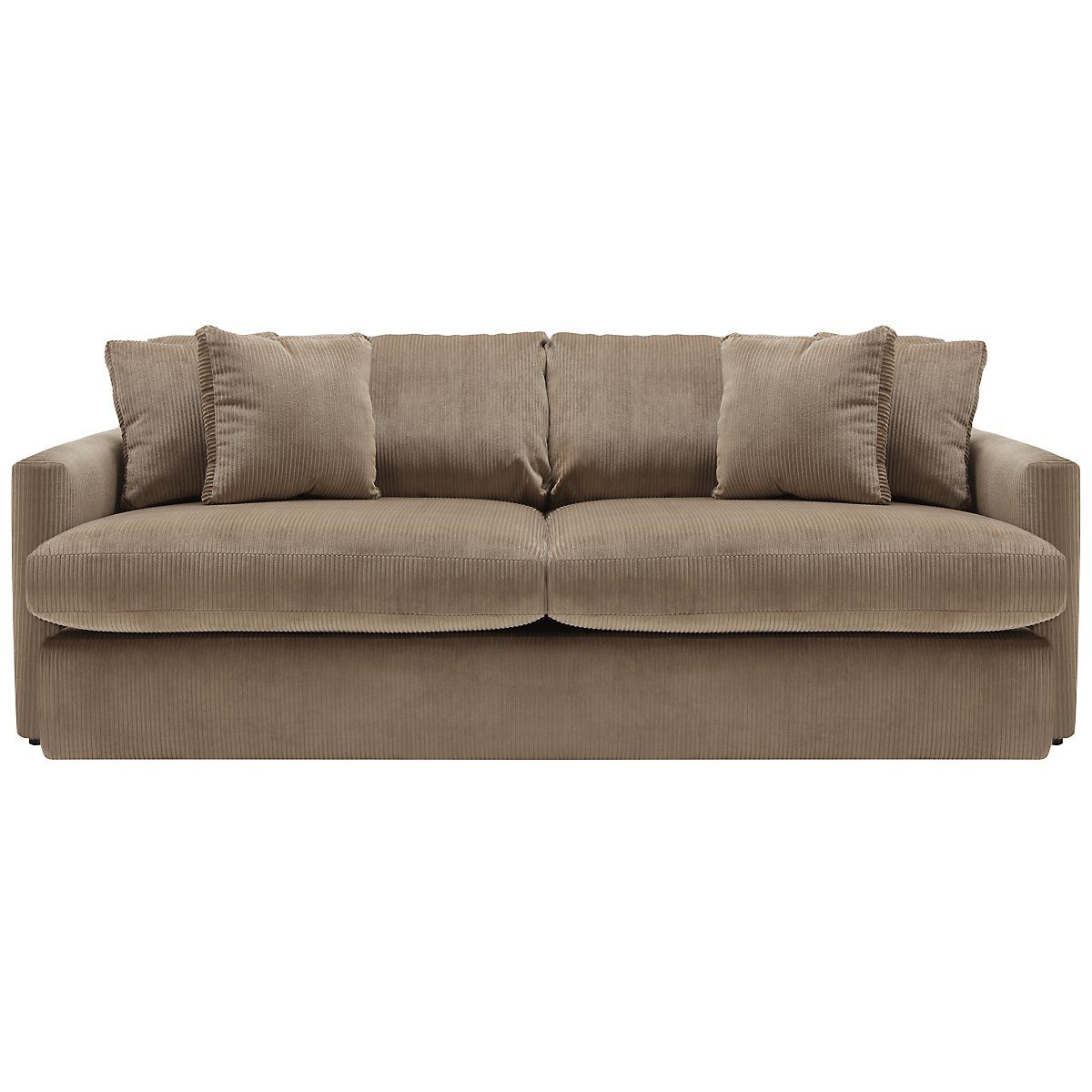Tara2 dk taupe micro sofa - Sofa loft taupe ...