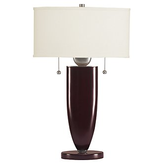 Paxton Dk Brown Table Lamp