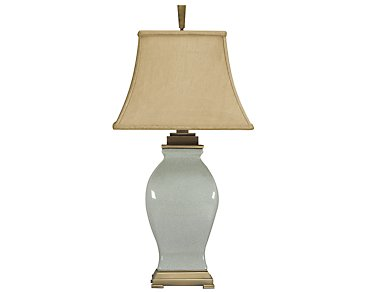Rory Light Blue Table Lamp