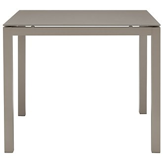 "Lisbon Khaki 36"" Square Table"