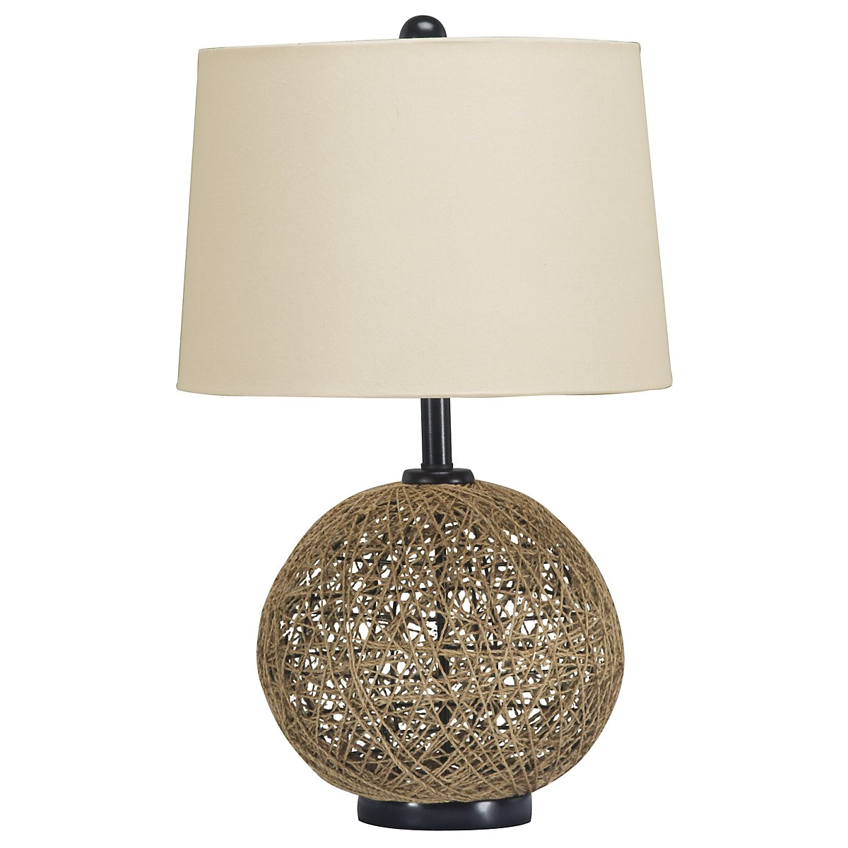 Entwine Light Brown Table Lamp
