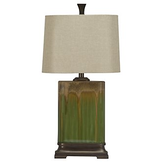 Summer Green Table Lamp