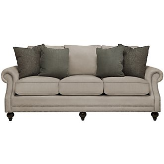 Product Image: Chelsy Pewter Microfiber Sofa