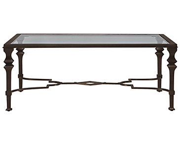 Lido Glass Rectangular Coffee Table