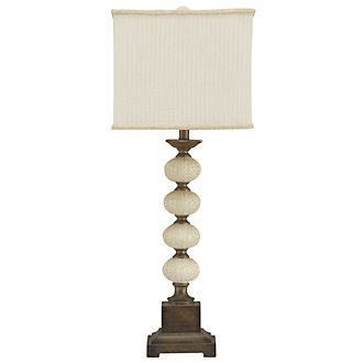 Claire Lt Beige Table Lamp