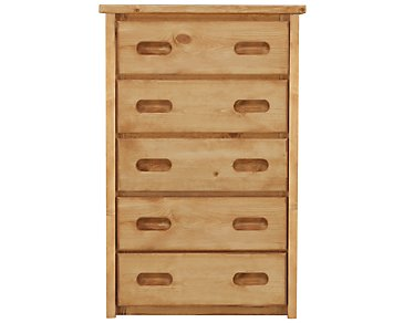 Cinnamon Mid Tone Drawer Chest