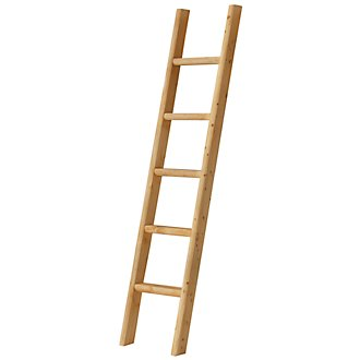 Cinnamon Mid Tone Bunk Ladder