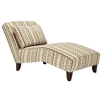 Grant2 Multicolored Fabric Chaise