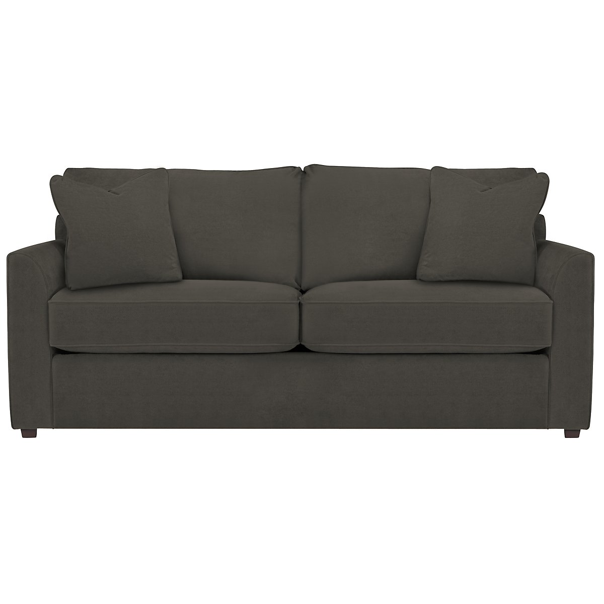 Express3 Dark Gray Microfiber Sofa