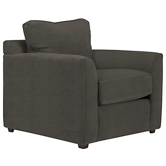 Express3 Dark Gray Microfiber Chair