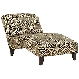 Kenya2 Multicolored Fabric Chaise