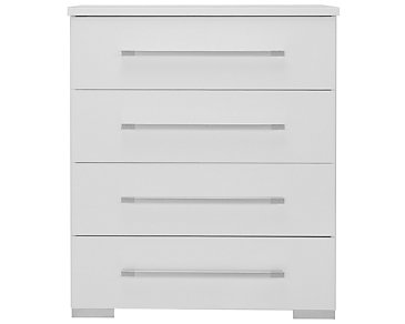 Dimora White Small Drawer Chest