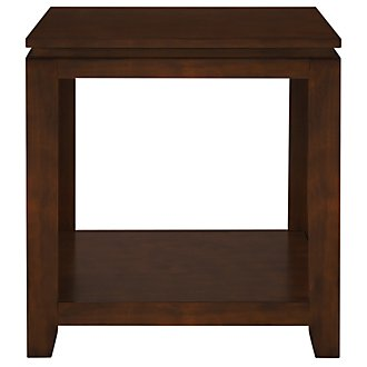 Oxford Mid Tone Square End Table