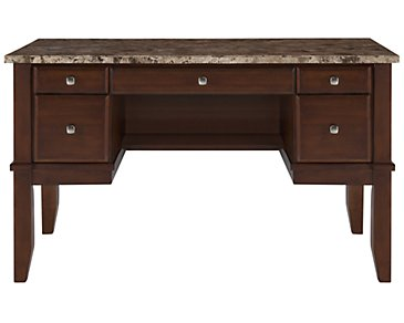 City Lights Marble Writing Desk