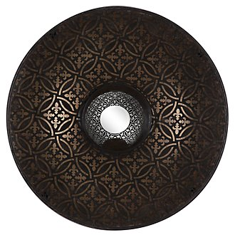 Corine Dark Brown Sconce