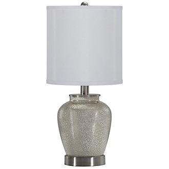 Bella Silver Table Lamp