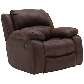 Tyler2 Dk Brown Microfiber Power Recliner