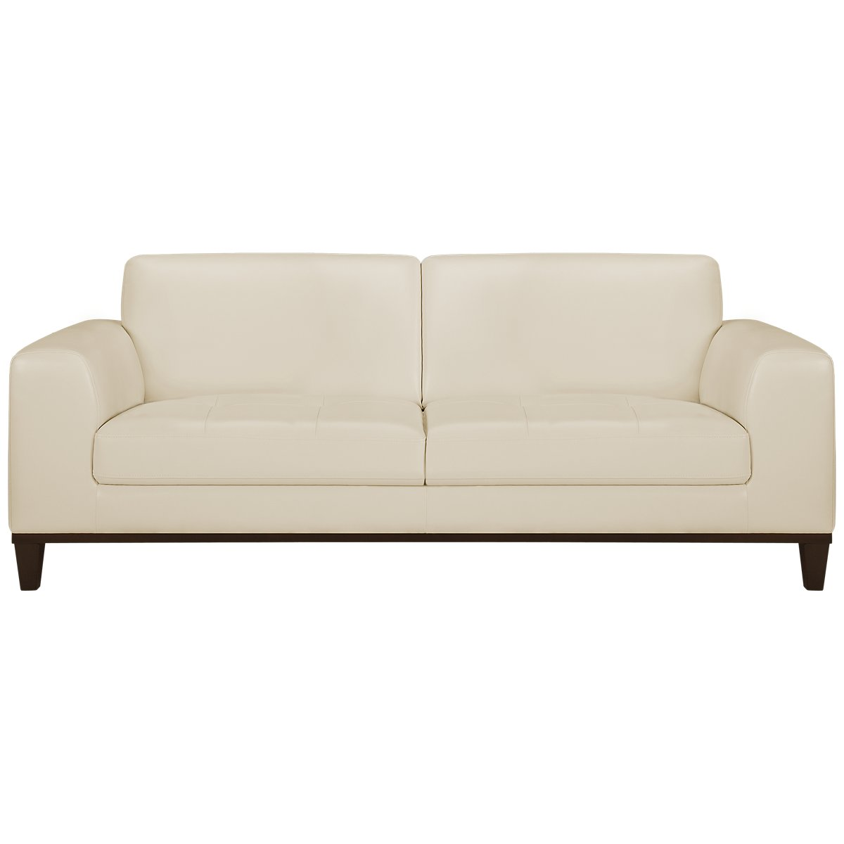 Piper Light Beige Bonded Leather Sofa