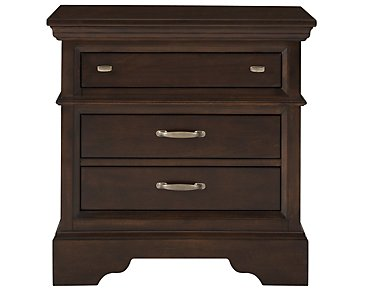 Canyon Dark Tone Drawer Nightstand