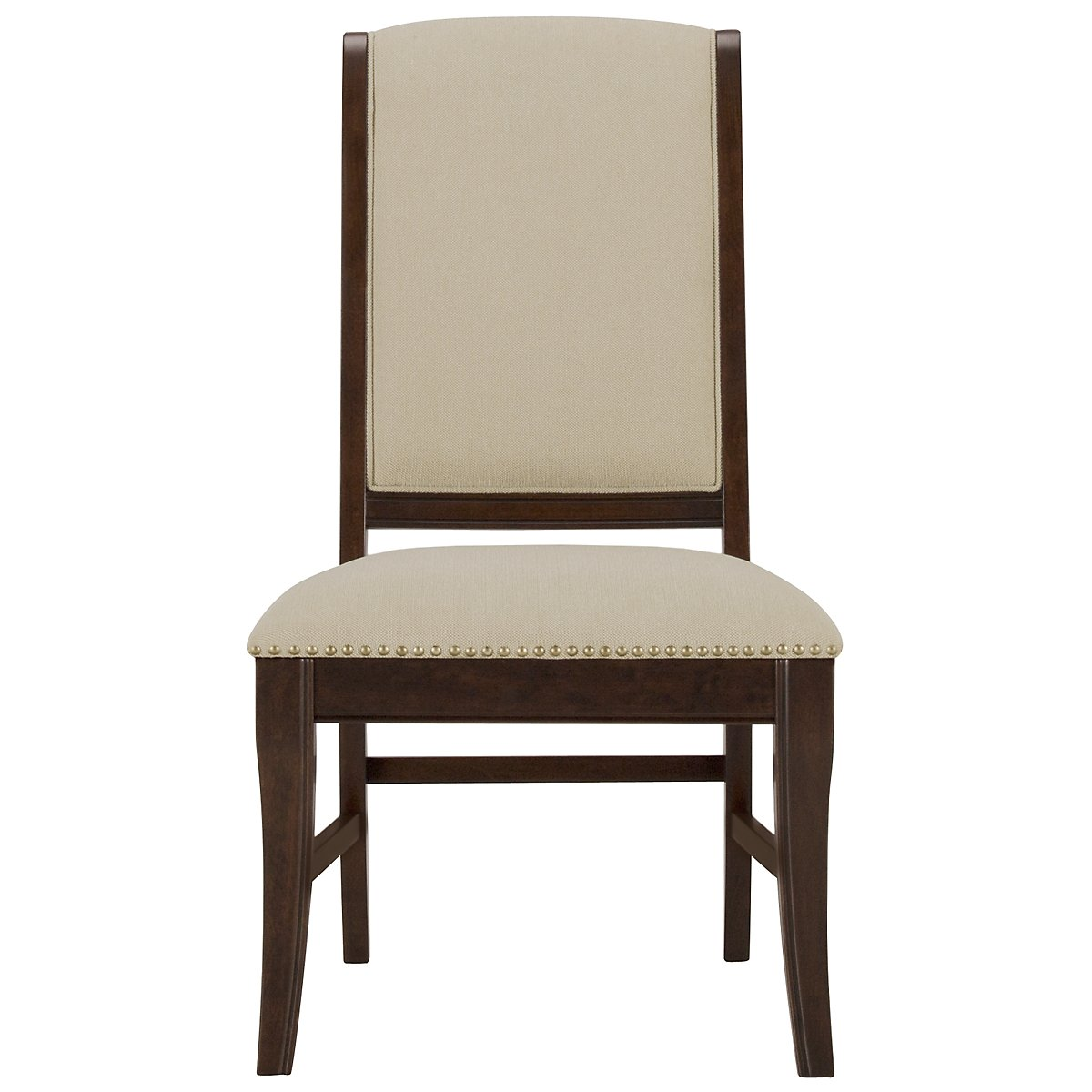 City Furniture Canyon Mid Tone Upholstered Side Chair