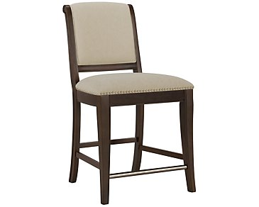 "Canyon Dark Tone 24"" Upholstered Barstool"