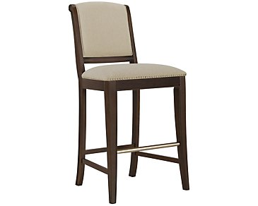 "Canyon Dark Tone 30"" Upholstered Barstool"
