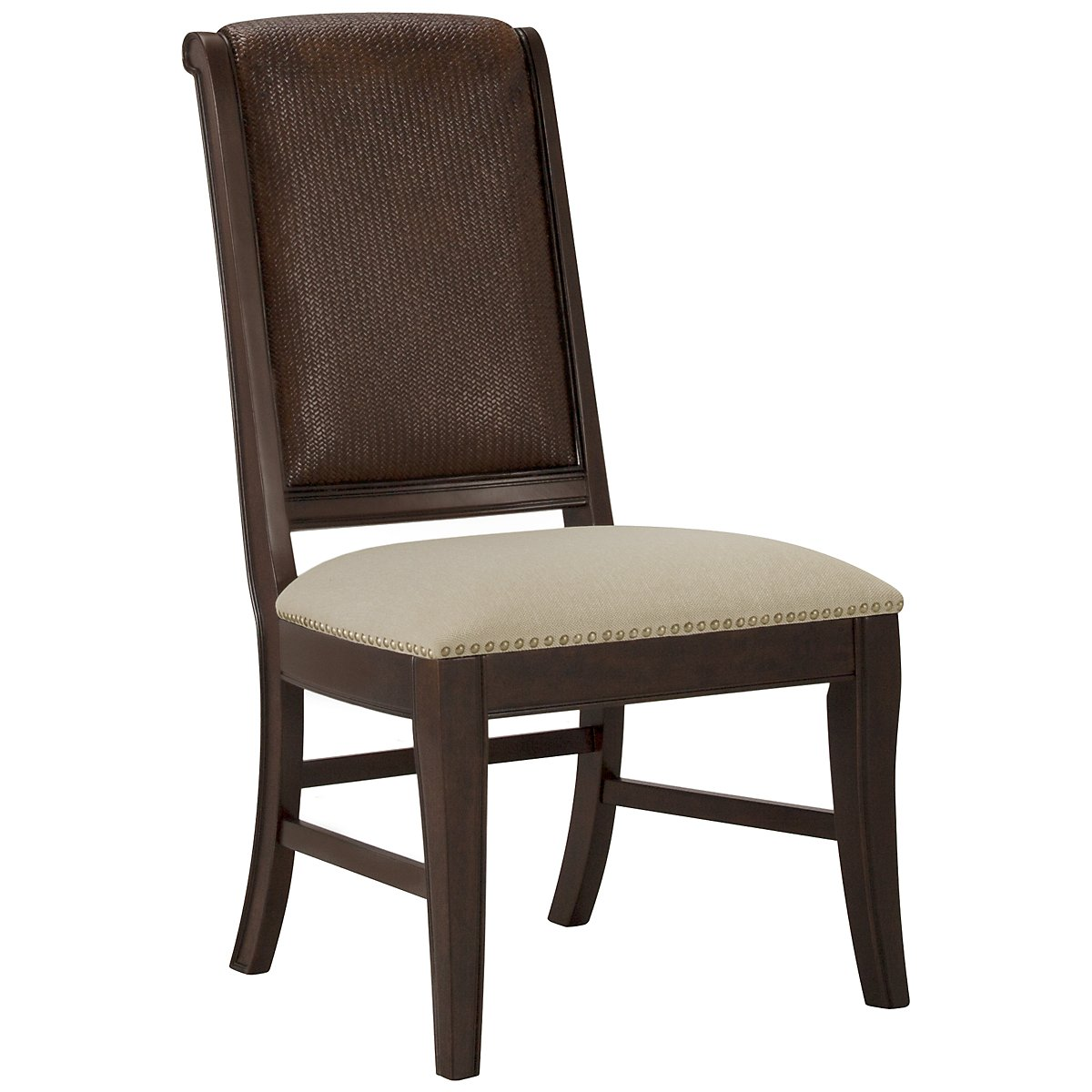 Canyon Dark Tone Woven Side Chair