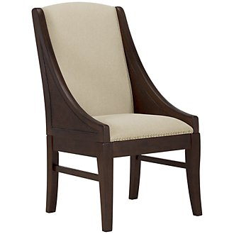 Canyon2 Dark Tone Sloped Woven Arm Chair