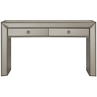 Adiva Mirrored Console Table