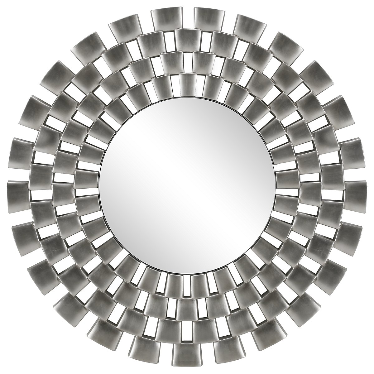 Checkers Silver Mirror