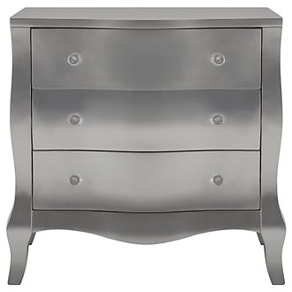 Reese Silver Accent Chest