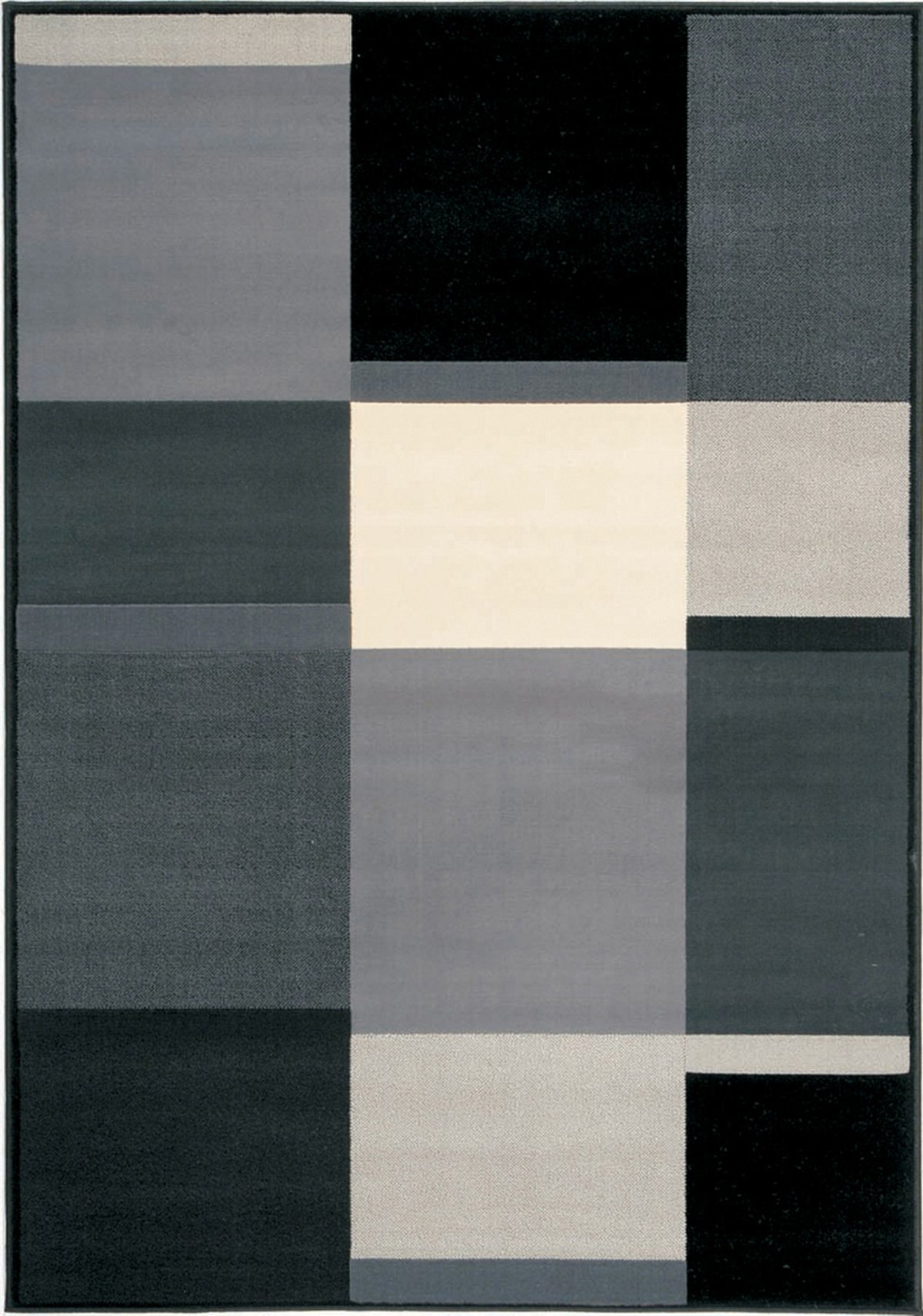 Office Furniture West Palm Beach City Furniture: Ming Black 8X10 Area Rug
