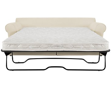 Levi Beige Cotton Innerspring Sleeper