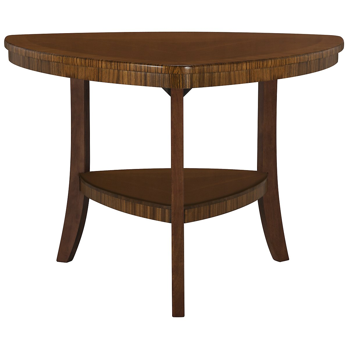 Milan Mid Tone Triangle High Table