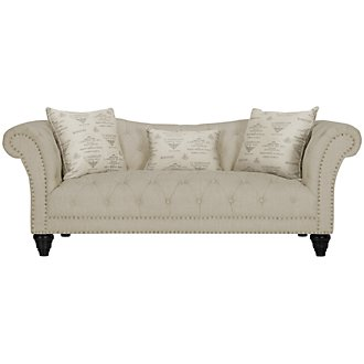 Product Image: Hutton Lt Taupe Linen Sofa
