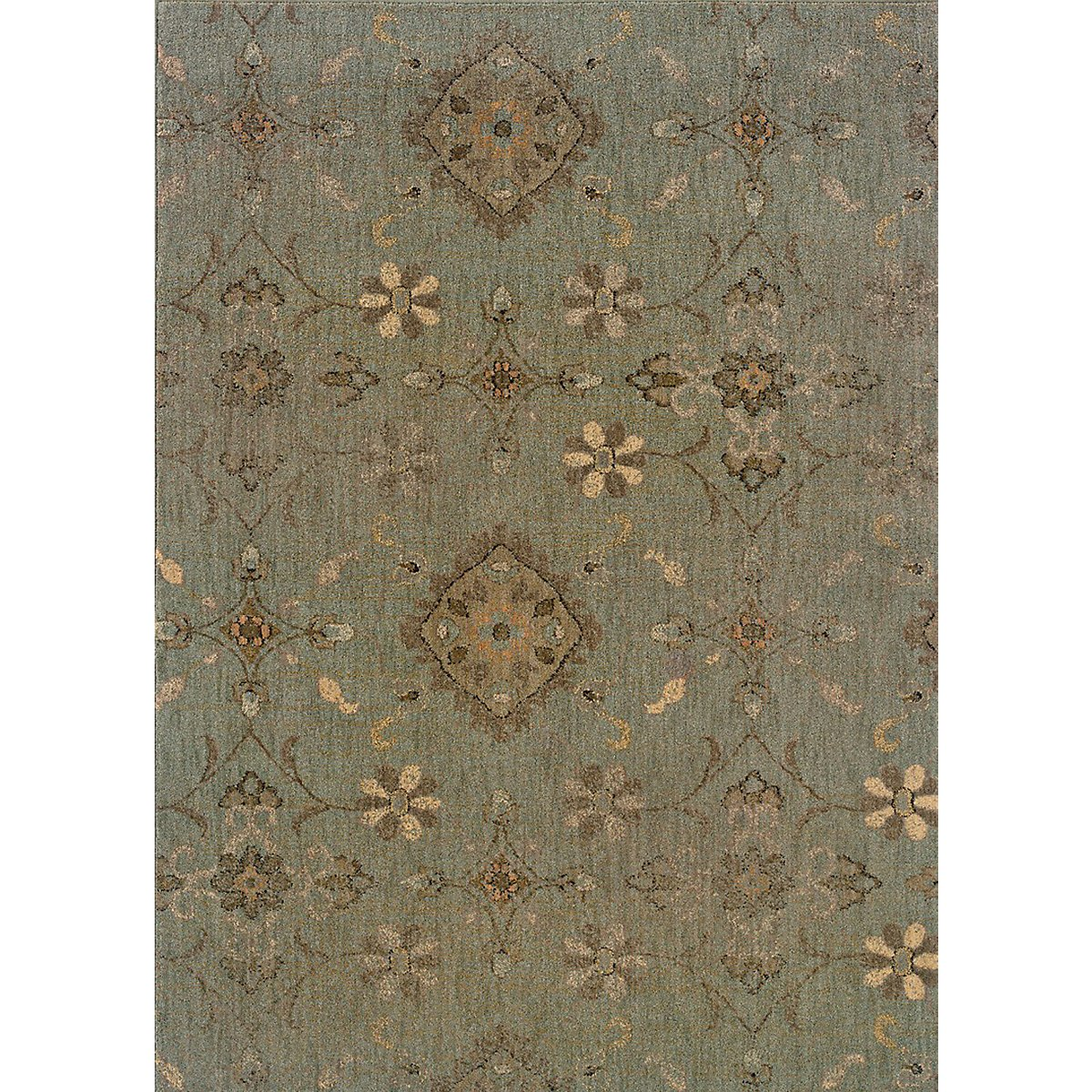 Milano Green 5X8 Area Rug
